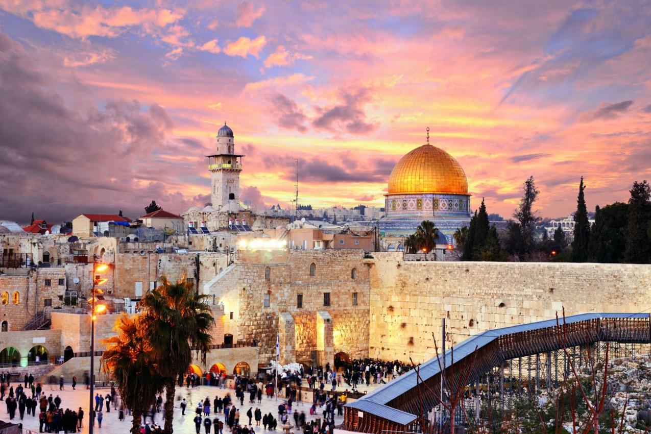 Pacote para Israel e Egito