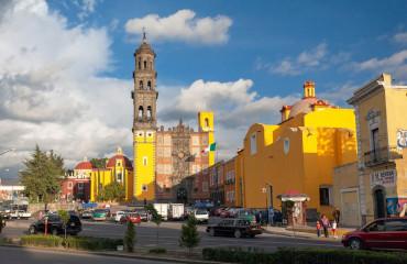 Rua histórica de Puebla