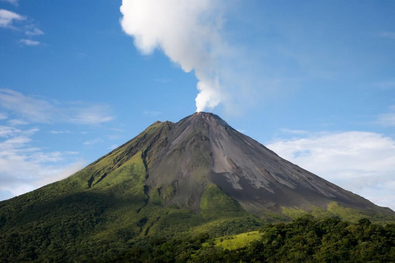 Arenal vulcão na Costa Rica