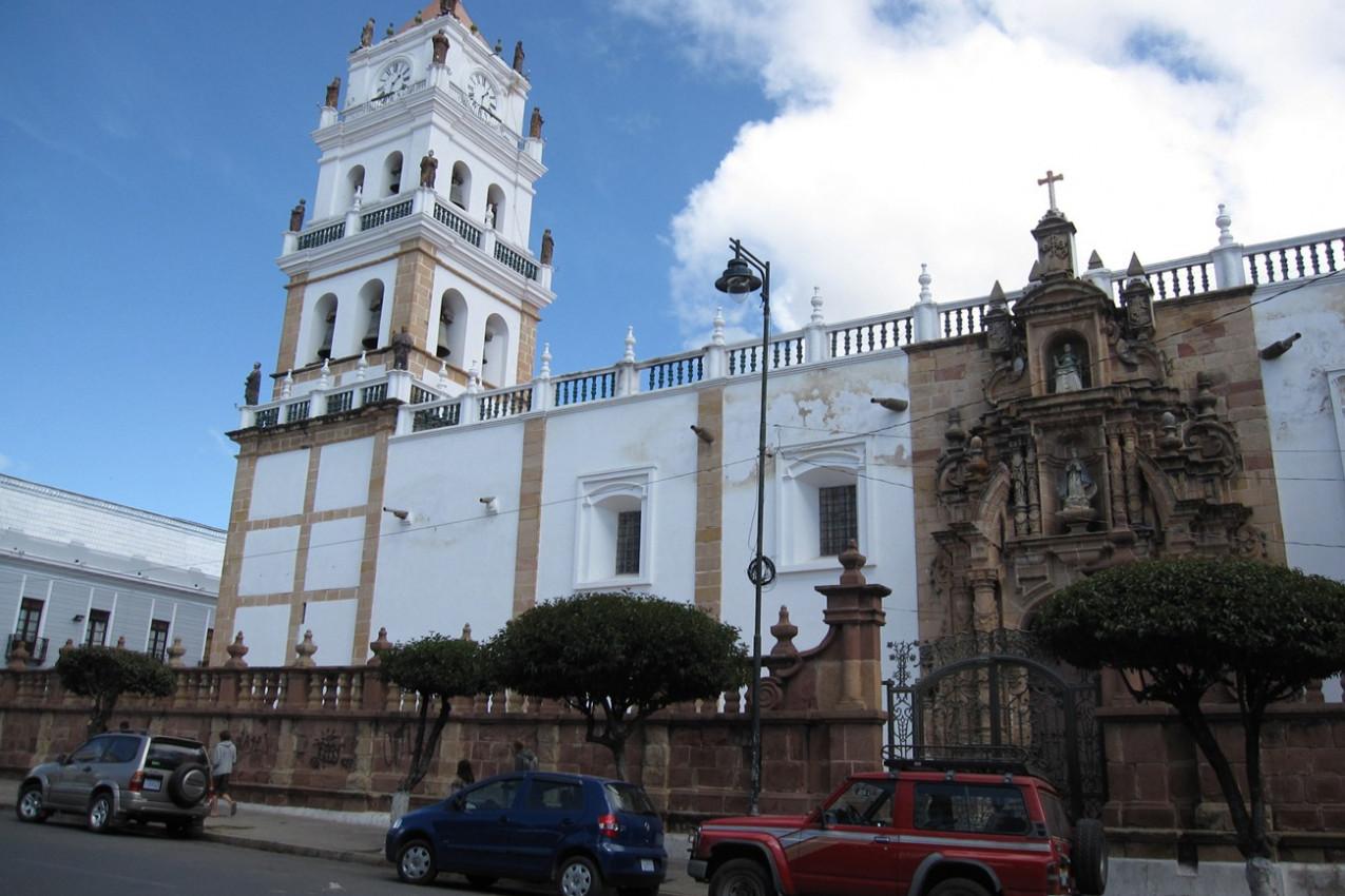 Catedral Metropolitana de Sucre na Bolívia