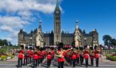Cerimônia de mudança do Parlamento Hill em Ottawa