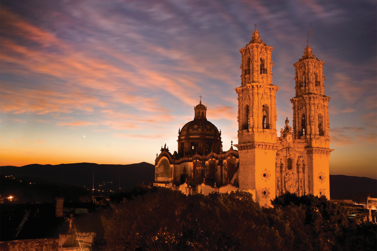Igreja de Santa Prisca em Taxco