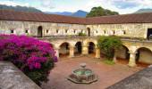Igreja e Convento las Capuchinas na Guatemala
