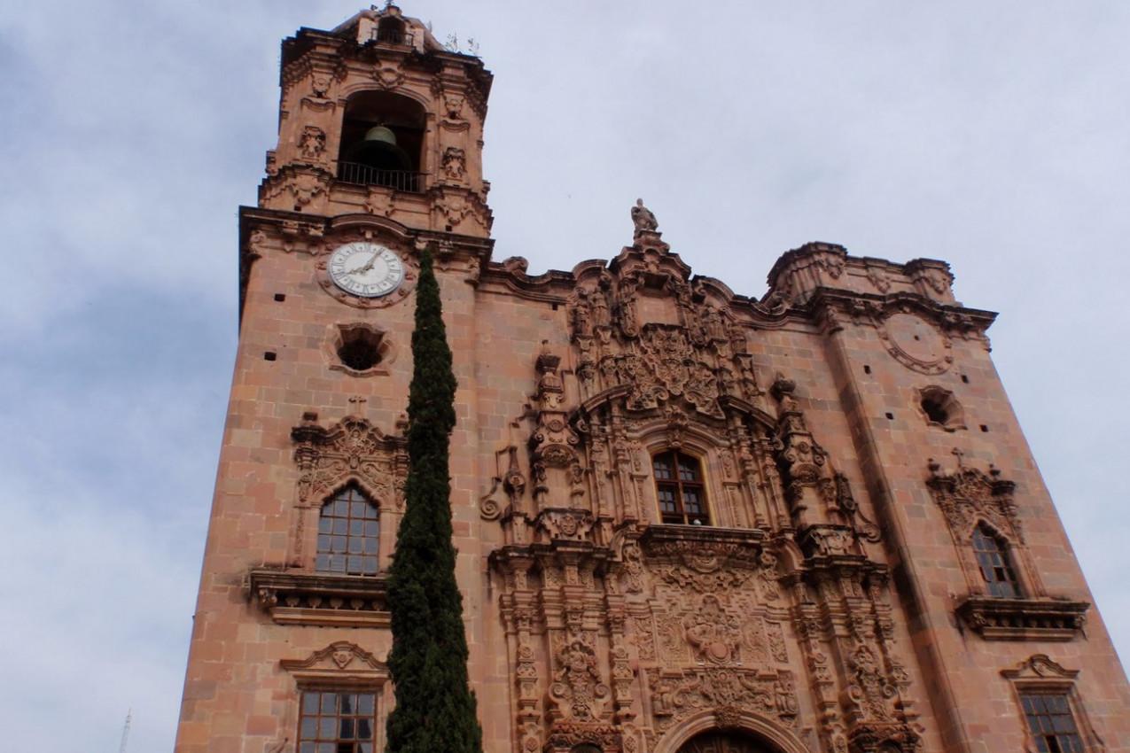 La Valenciana Church em Guanajuato