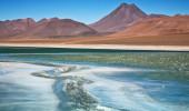 Laguna Diamante no Atacama