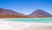Lagoa Verde na Bolívia