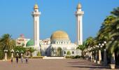 Monastir, Tunísia O mausoléu de Habib Bourtguiba