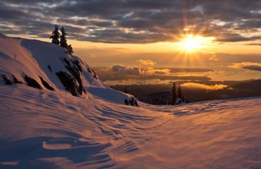 Mt. Seymour no inverno