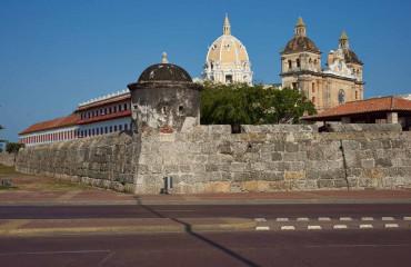 A cidade amuralhada de Cartagena