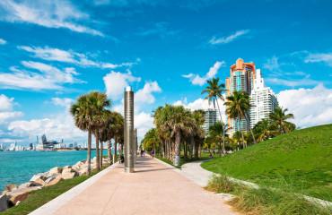Parque Pointe em Miami