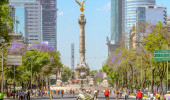 Passeo e reforma no anjo Cidade do Mexico