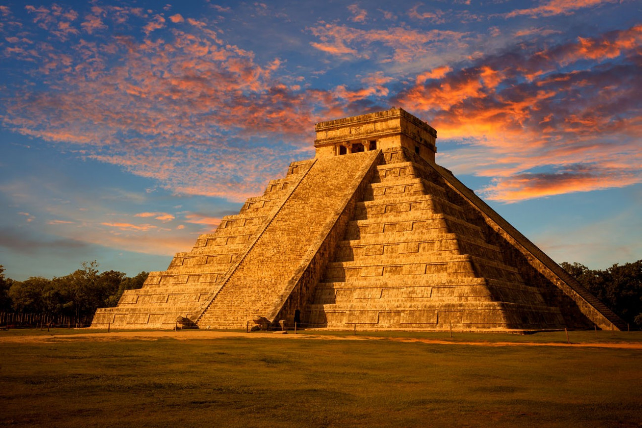 Chichen Iltza Piramide em Cancun