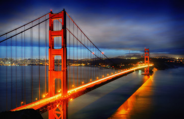 Ponte Golden Gate em São Francisco