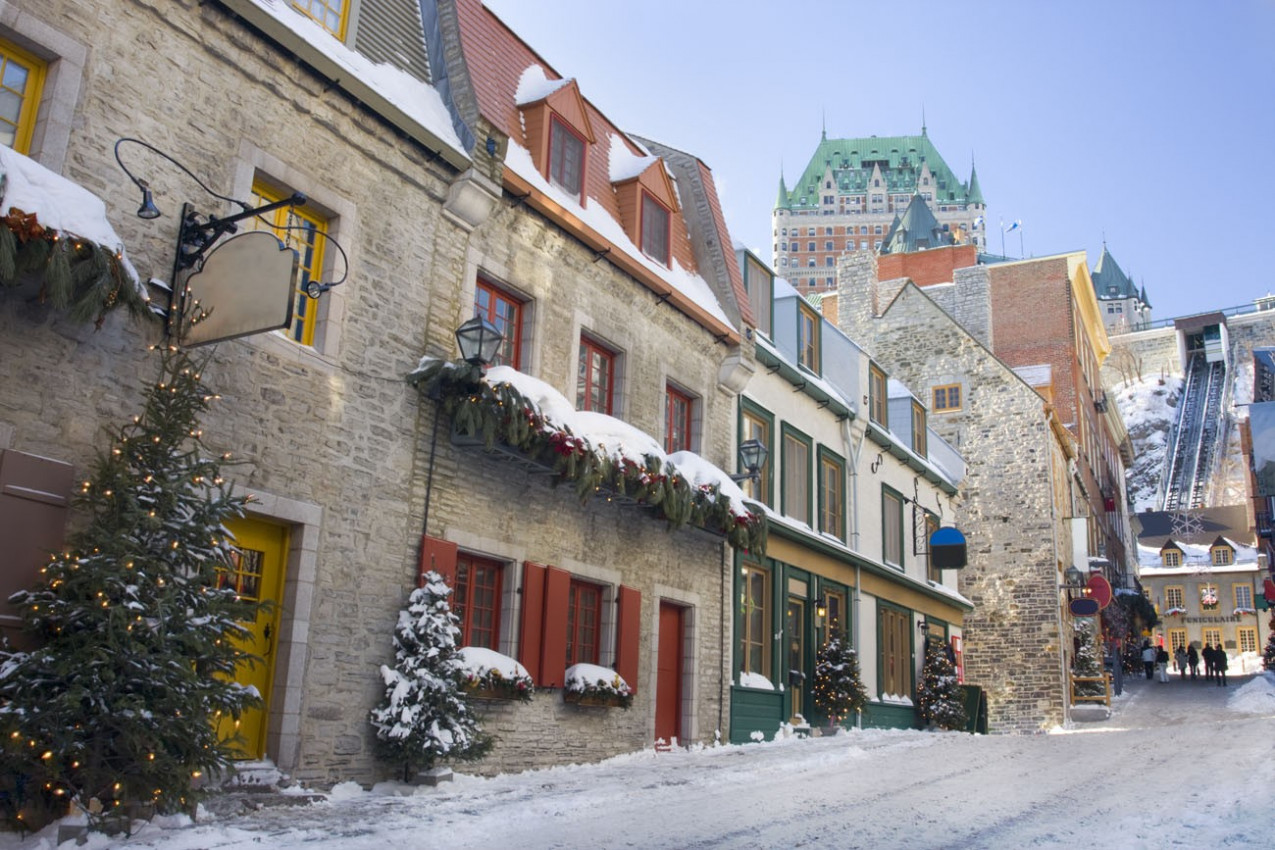 Chateau Frontenac em Quebec