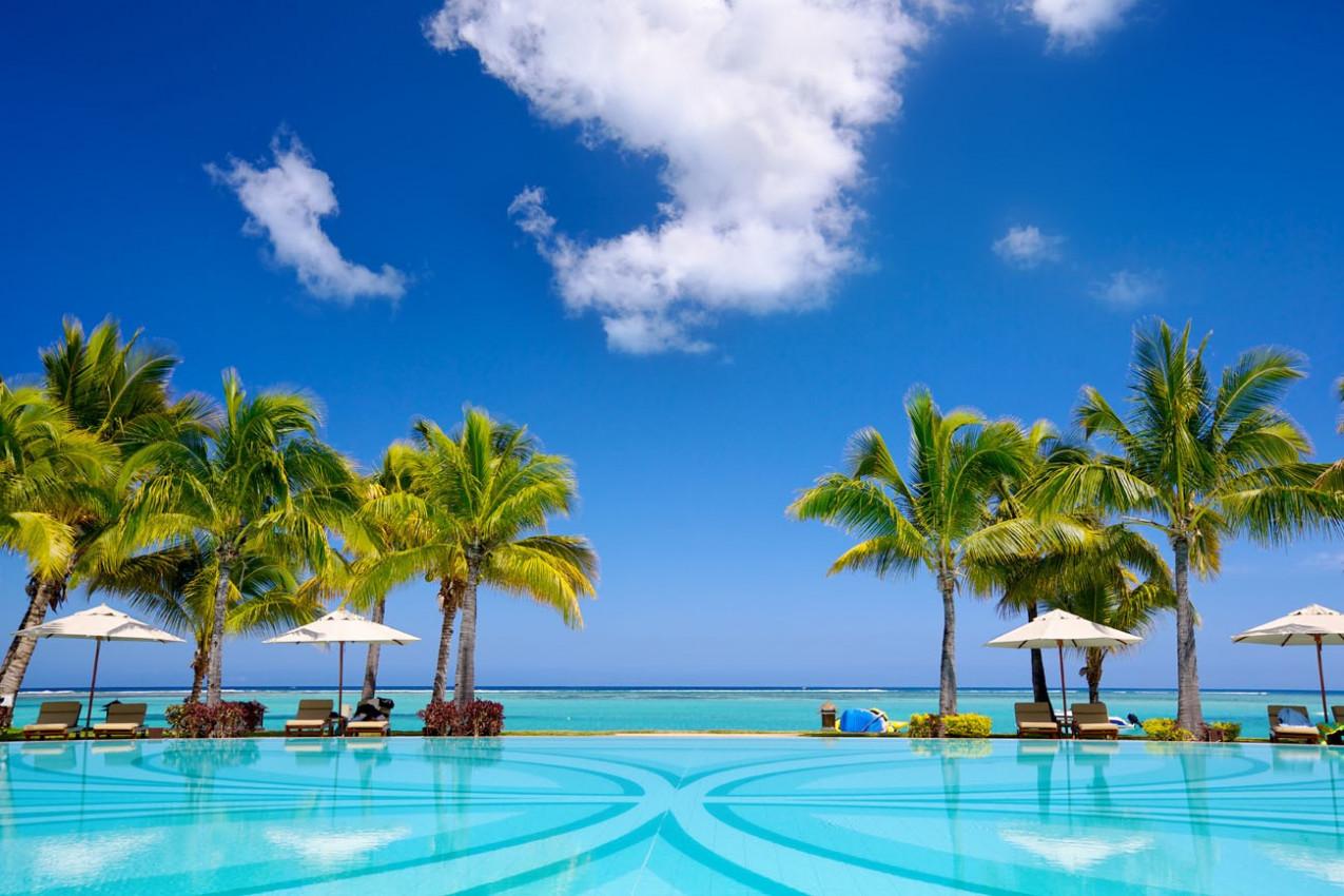 Resort Beach Ilhas Mauricios