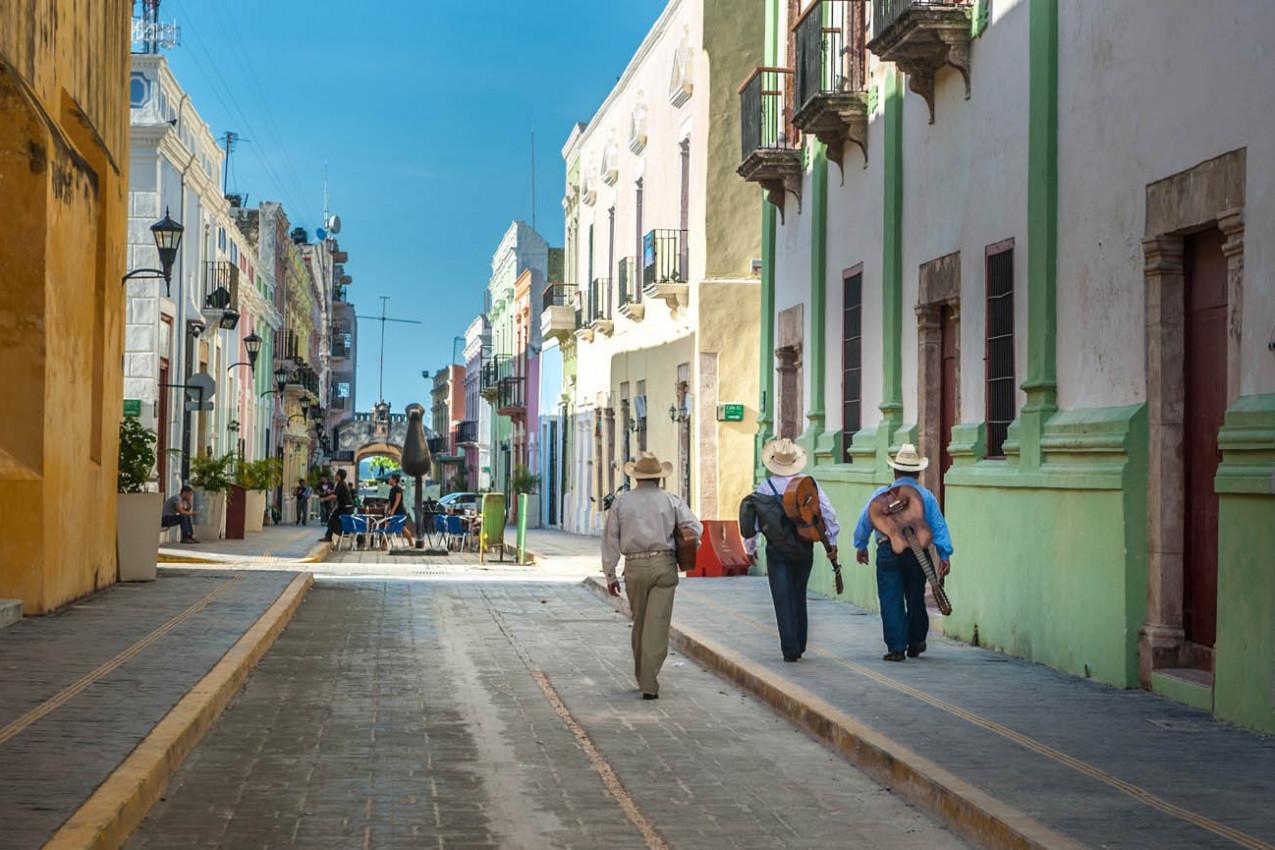 Rua em Guanajuato