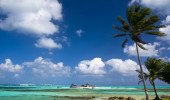 San Andres é uma ilha de corais no Mar do Caribe