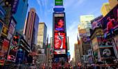 Teatro da Broadway e luzes de Led