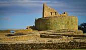 Templo do Sol em Ingapirca as mais importantes ruínas arqueológicas incas no Equador
