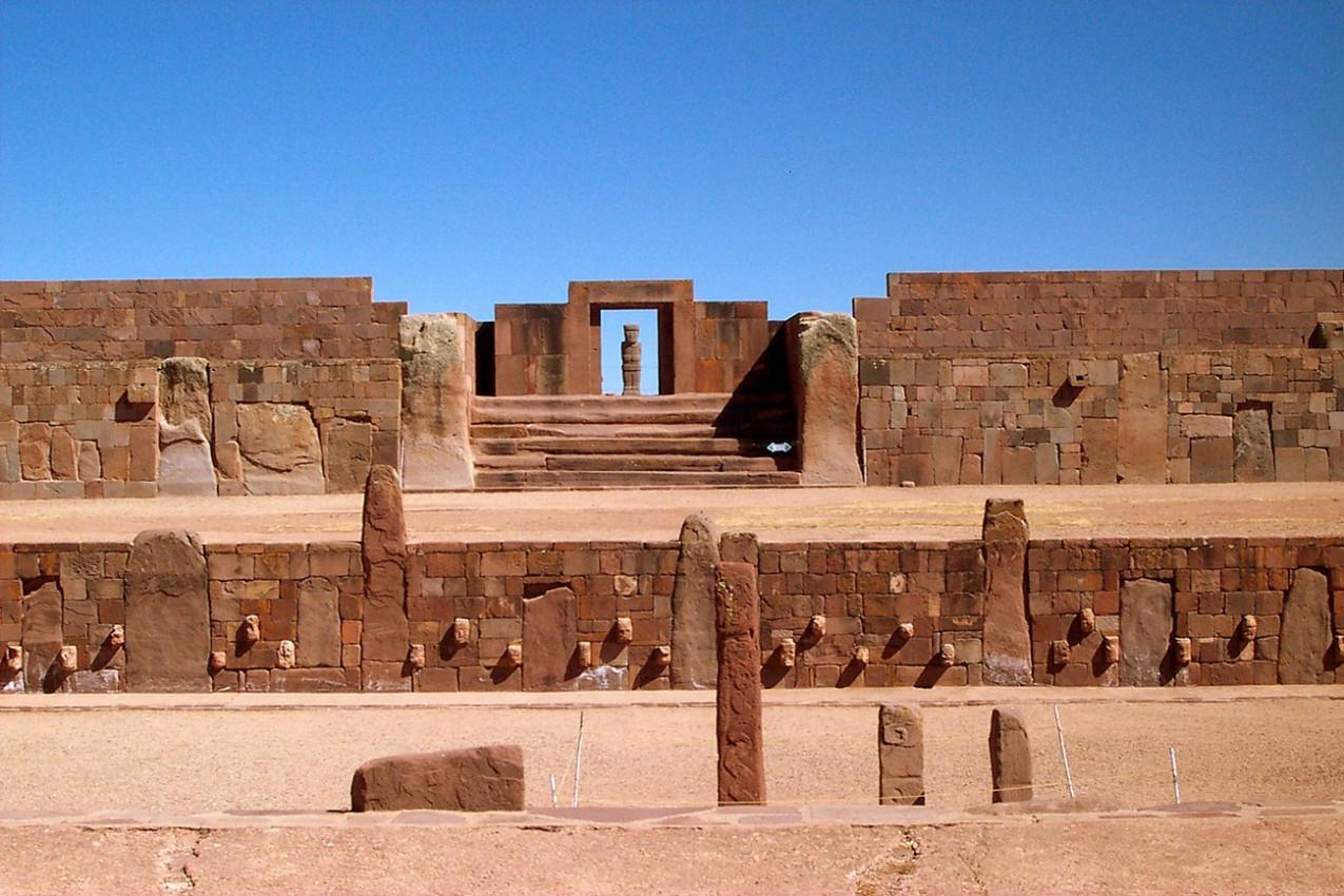 Tiahuanaco na Bolívia