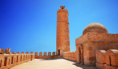Torre do Ribat Sousse, Tunísia