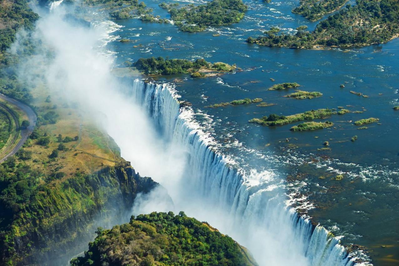 Victoria Falls em África do Sul