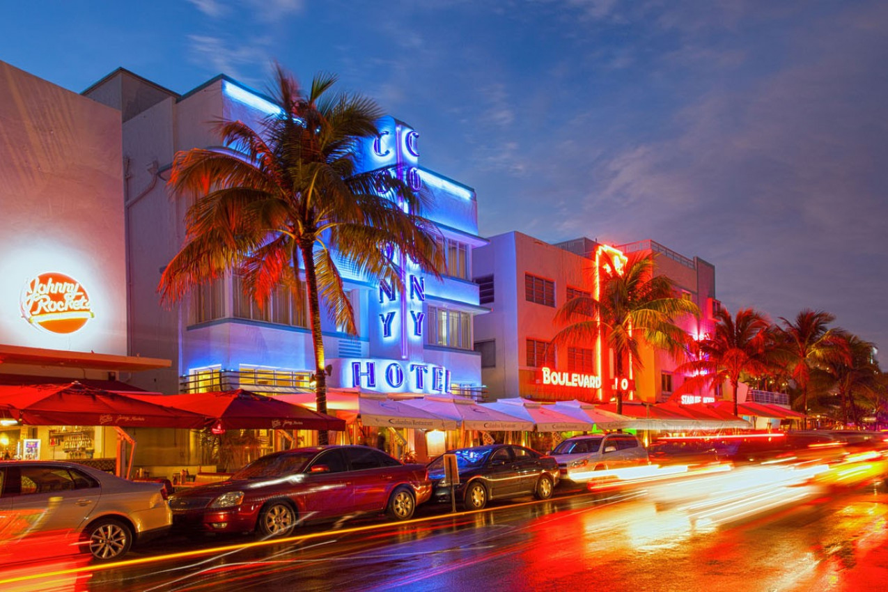 Vida noturna em Miami