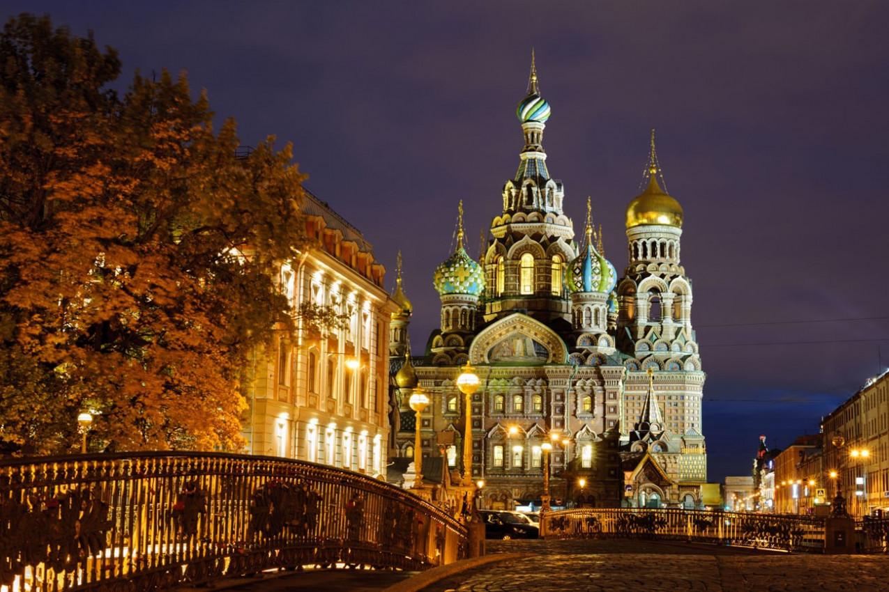 Igreja do Salvador em Sangue Derramado, St. Petersburg, Russia