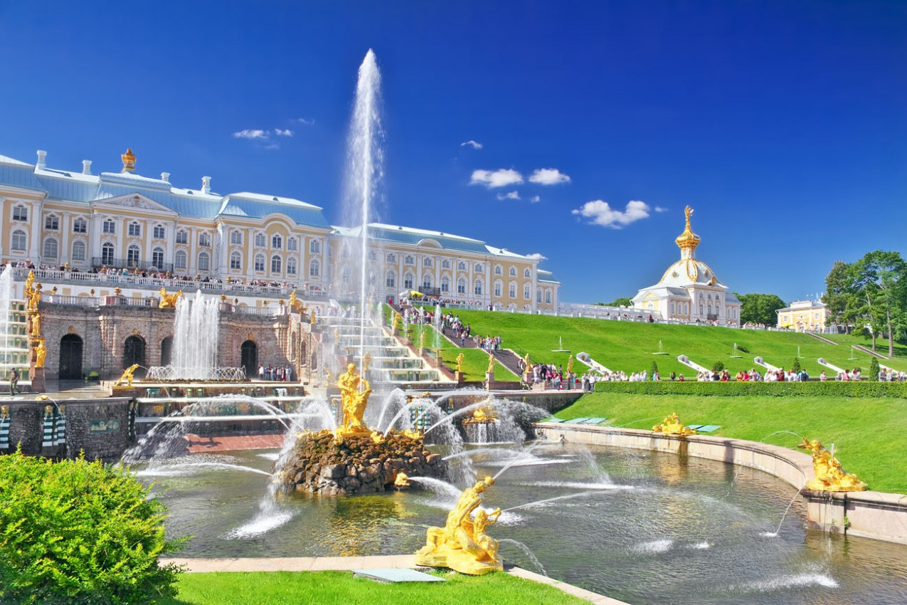 Peterhof, Saint-Petersburg, Russia