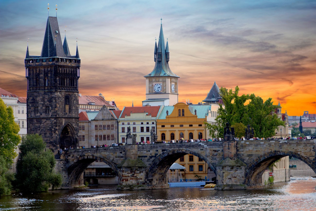 Ponte de Charles em Praga
