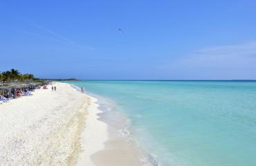 Praia em Cayo Santa Maria