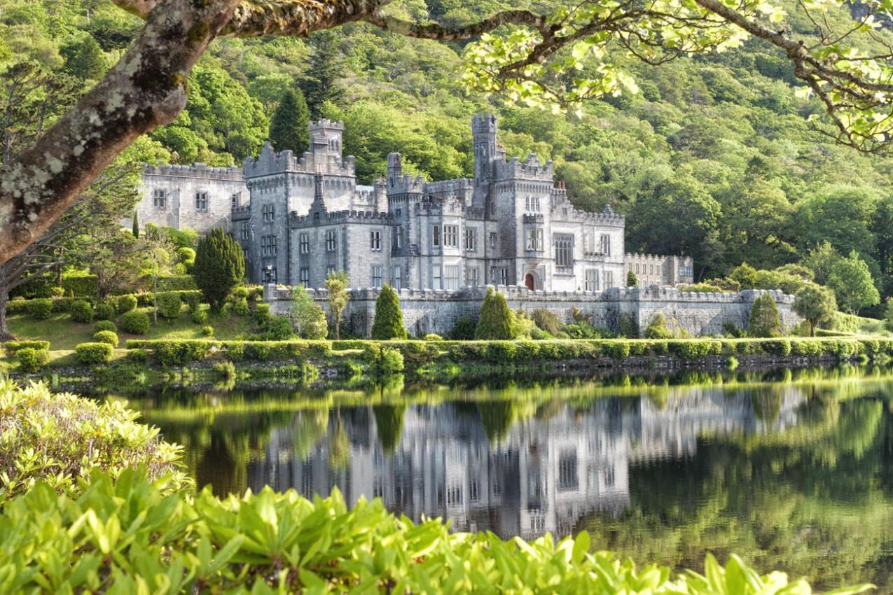 Abadia de Kylemore Connemara-Irlanda
