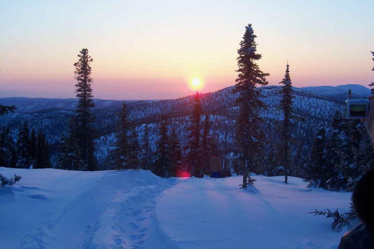 Alaska no Inverno