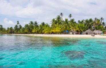 Aldeia na Ilha de San Blas