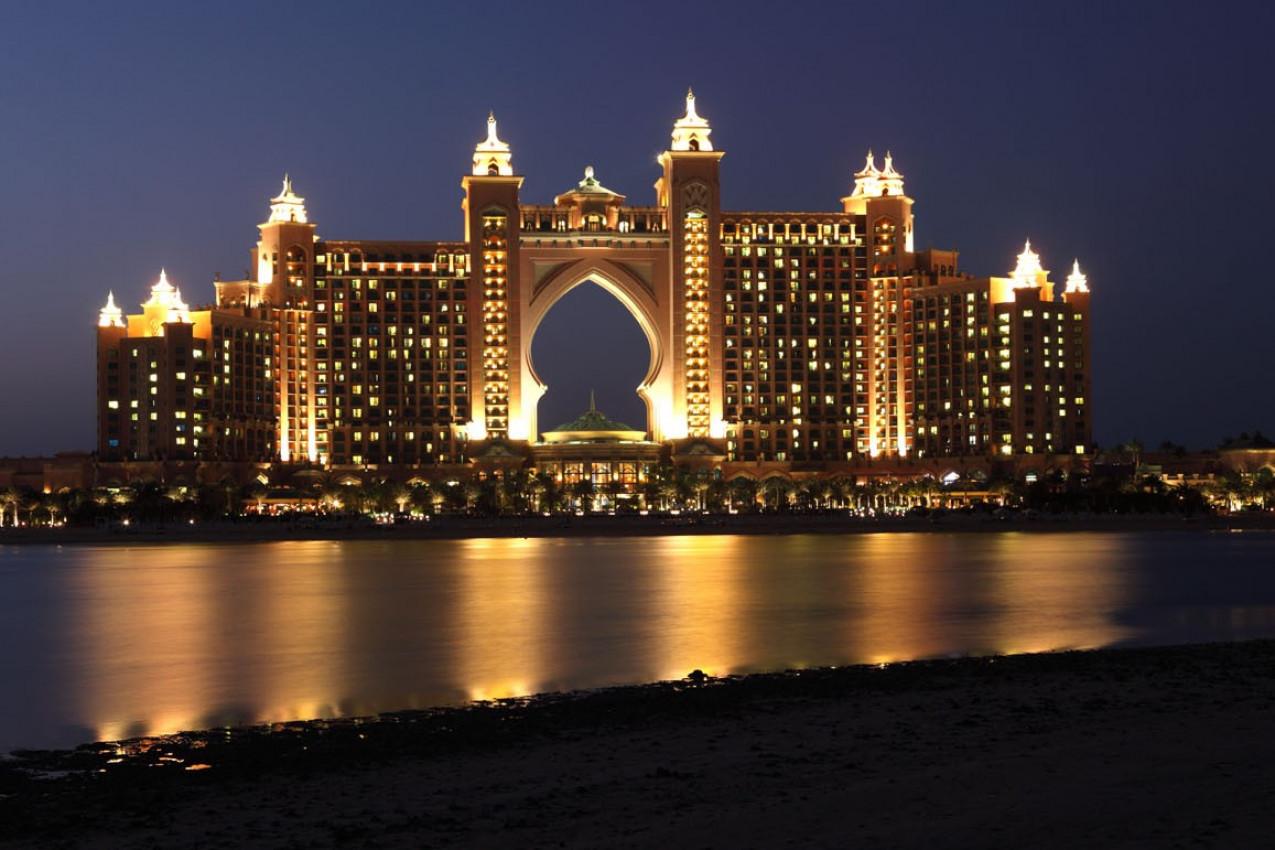 Atlantis, The Palm Hotel em Dubai, Emirados Árabes Unidos