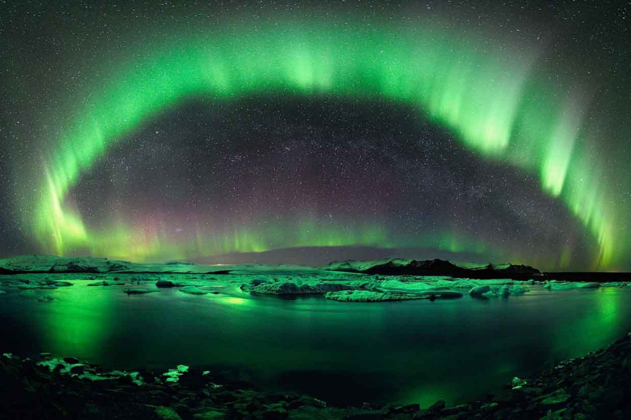 Aurora Boreal - Islândia