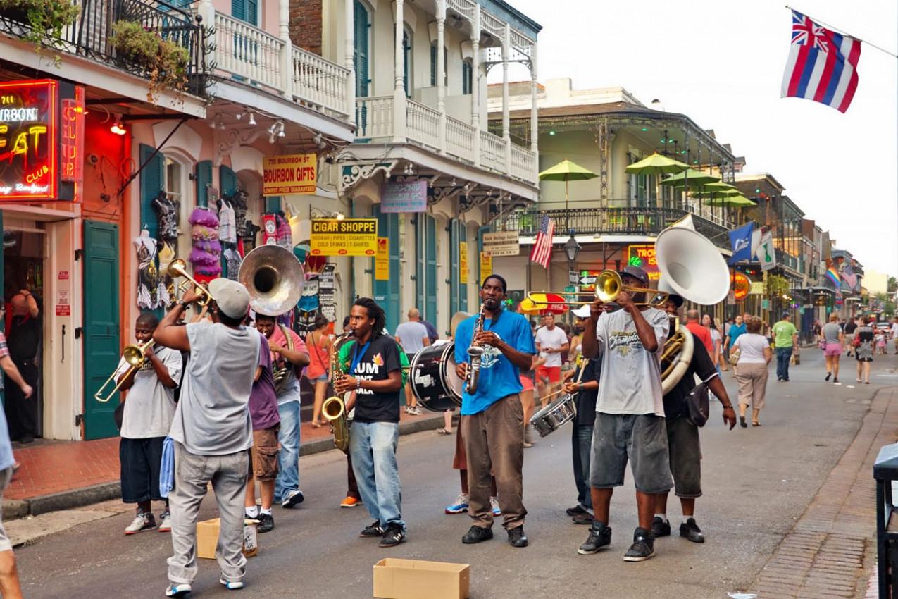 Banda de Jazz em New Orleans