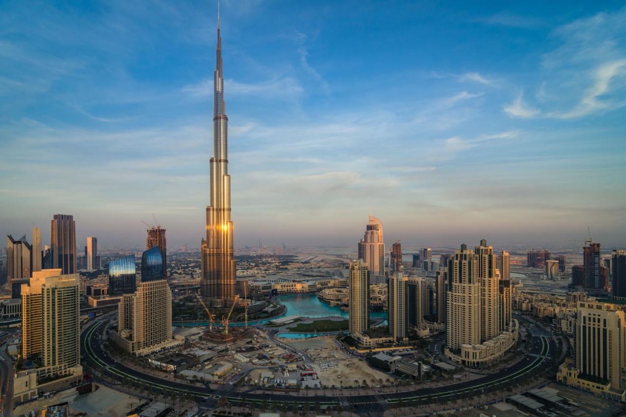 Burj At Kalifa o edificio mais alto do mundo