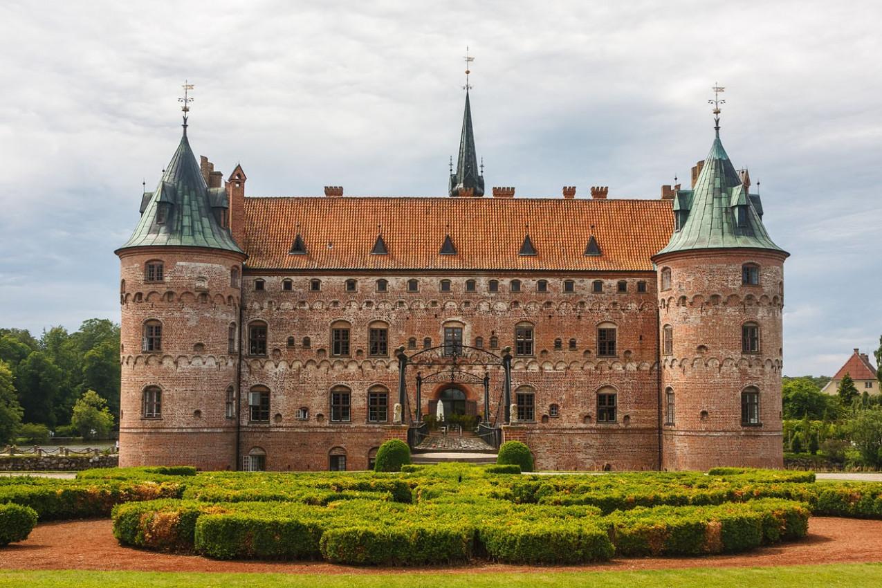Castelo de Egeskov, Dinamarca