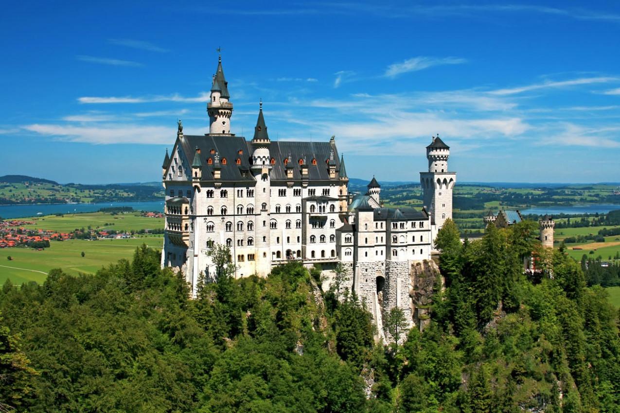 Castelo Neuschwanstein -Baviera, Alemanha