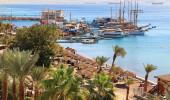 Eilat resort de praia do Mar Vermelho - Israel