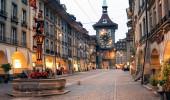 famosa torre do relógio de Berna na Suíça