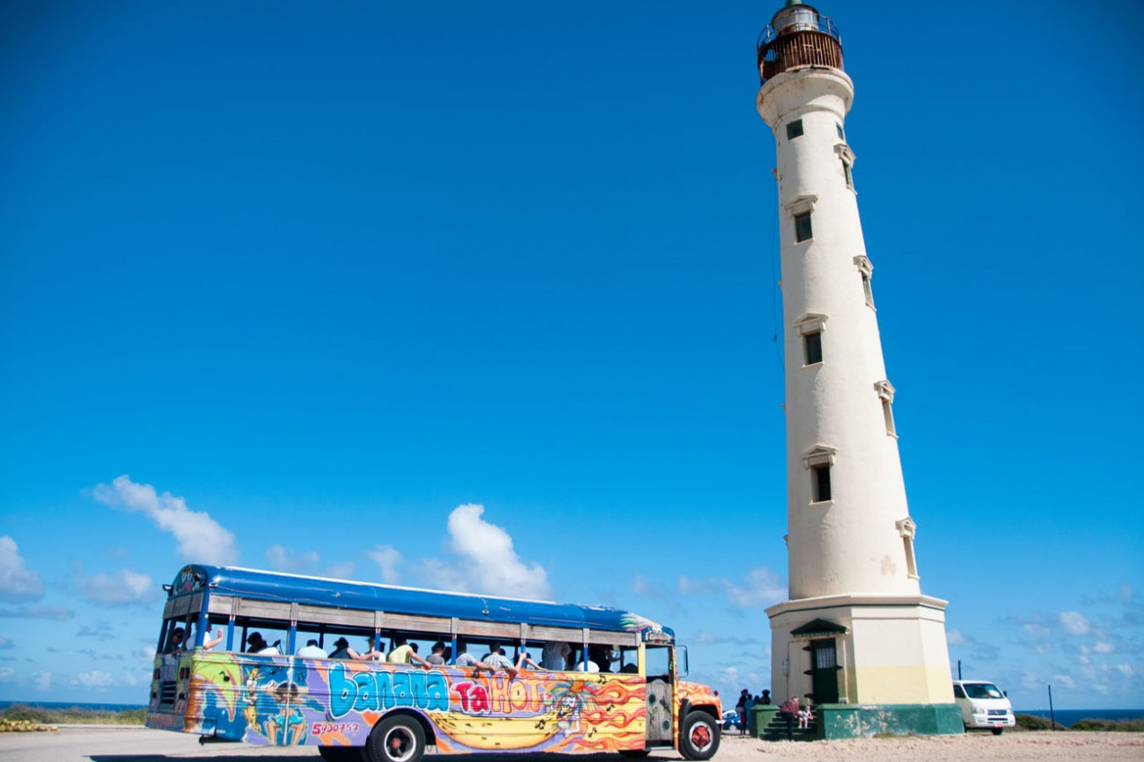Farol California Lighthouse em Aruba
