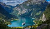 Fiorde Geiranger, Noruega