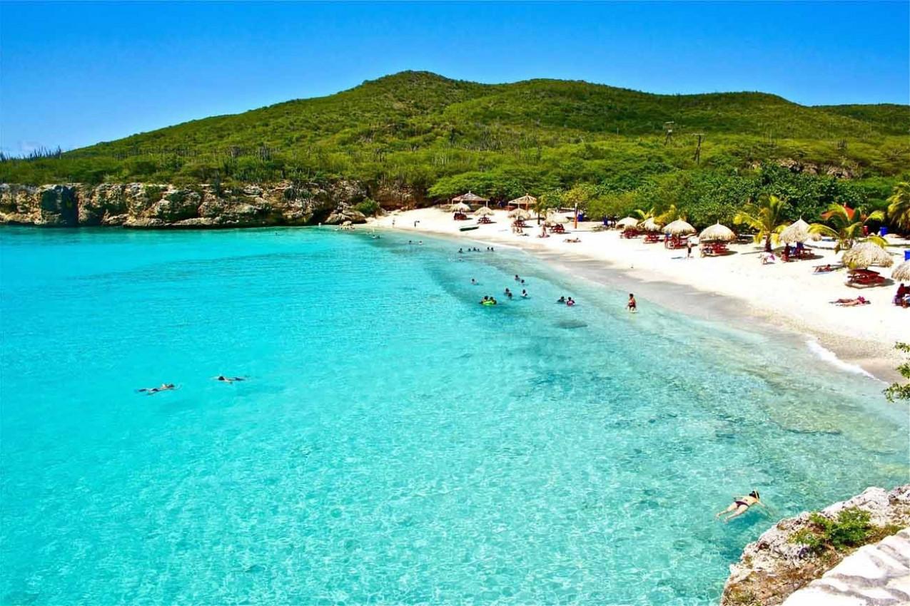 Grote Knip praia em Curaçao