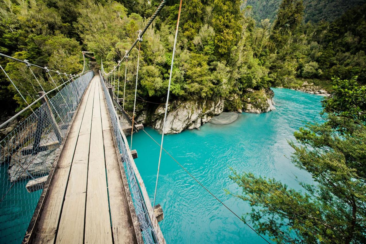 Hokitika Gorge, Hokitika, Nova Zelândia
