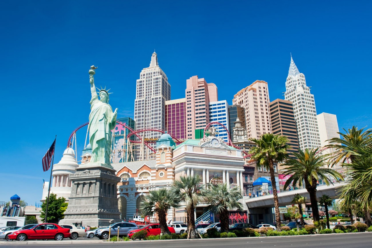 York is a luxury hotel and casino located on the Las Vegas Strip
