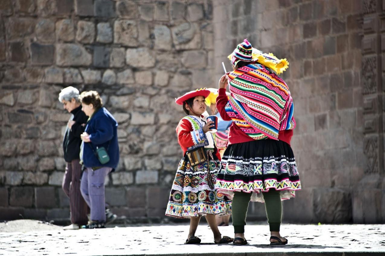 Indias Quechua em Cusco