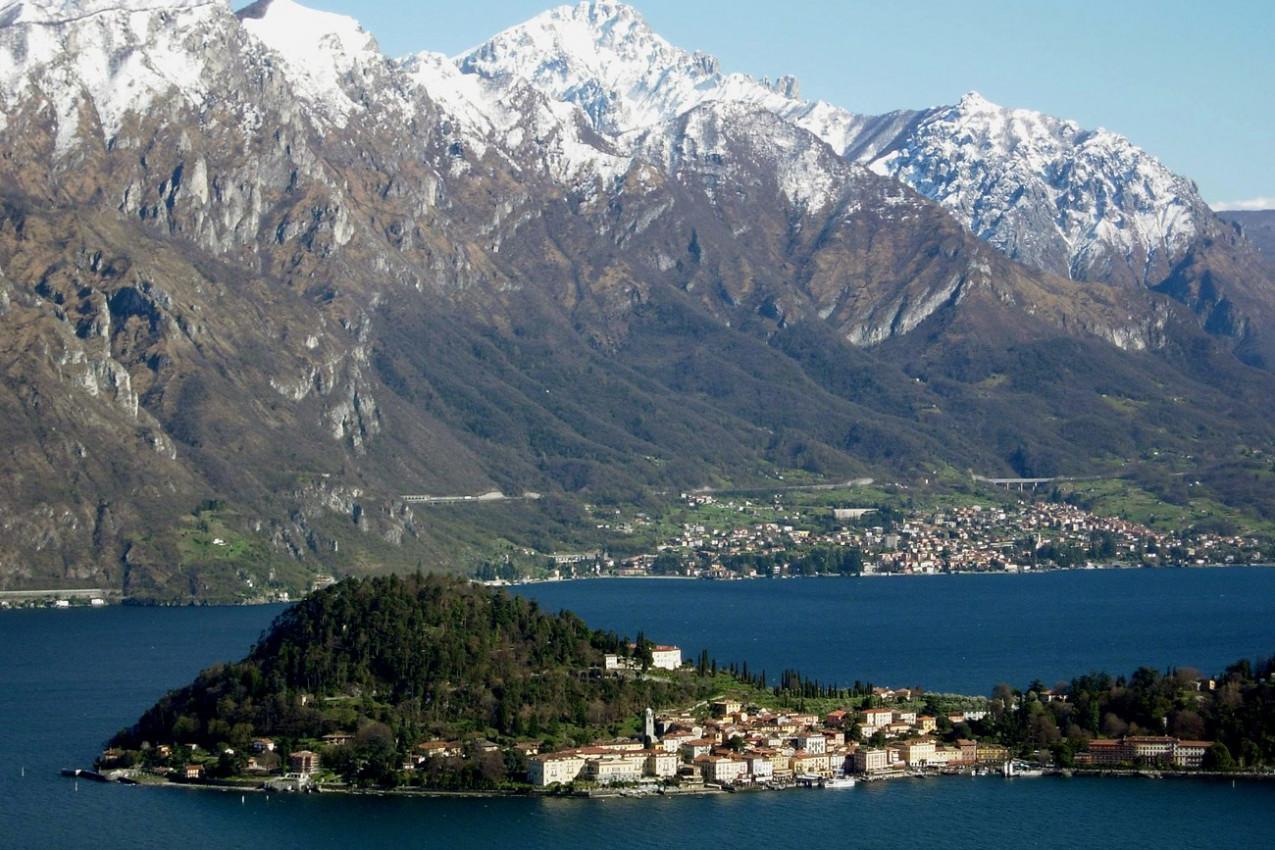 Lago Como Itália