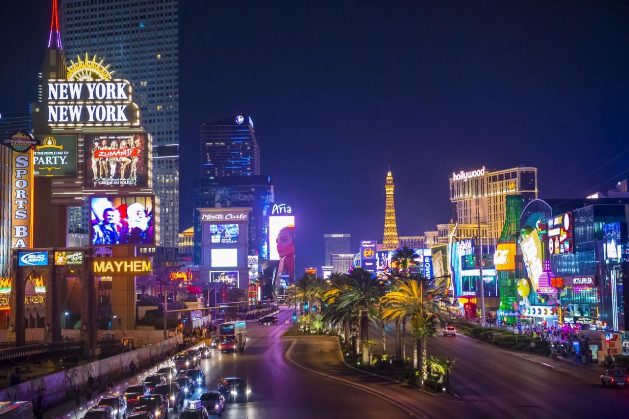 Las Vegas Boulevard in Clark County, Nevada